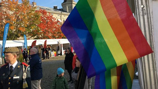 Sveriges radio: Pride ännu viktigare när nazister marscherar