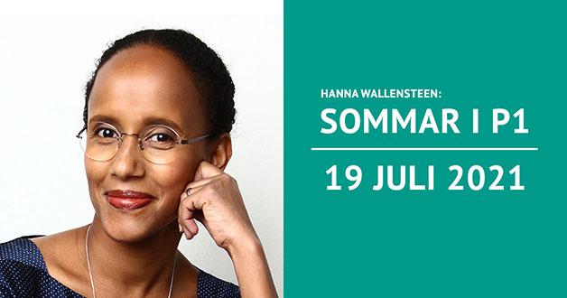 Hanna Wallensteen sommarpratar 19 juli 2021
