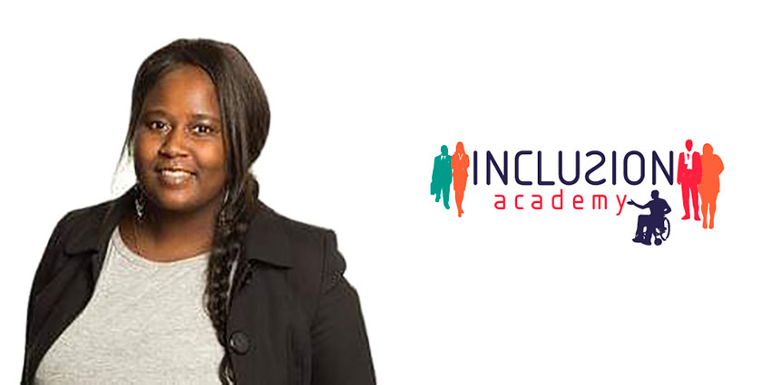 Madeleine Opira ny föreläsare hos Inclusion Academy